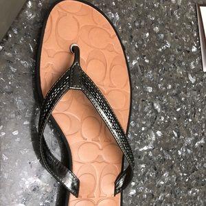 Coach authentic sandals
